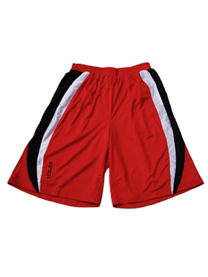 AND1 BREAK SHORT RED/BLK/WHT