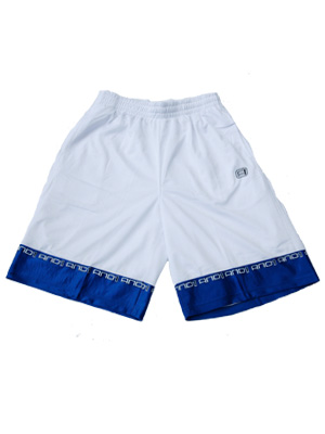 AND1 BOB SHORT WHT/ROY