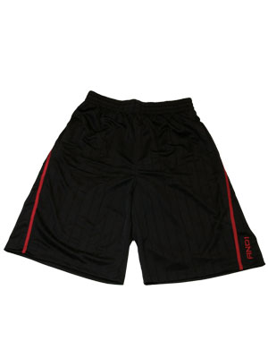 AND1 BOOZER SHORT BLK/RED