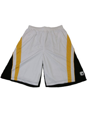 AND1 BORNER SHORT WHT/BLK/YEL