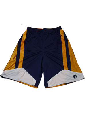 AND1 BART REV SHORT NVY/ORG/NVY
