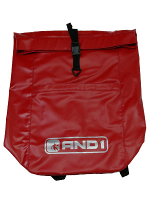 AND1 FINGER ROLL BACKPACK RED
