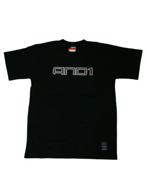 AND1 DYER SS TEE BLACK